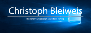Christoph Bleiweis Responsive Webdesign & Windows Tuning